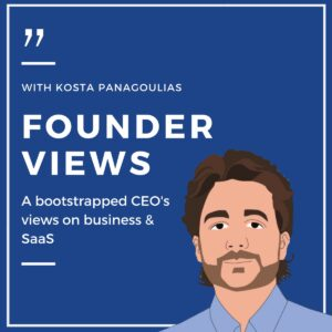 Founder Views with Kosta Panagoulias